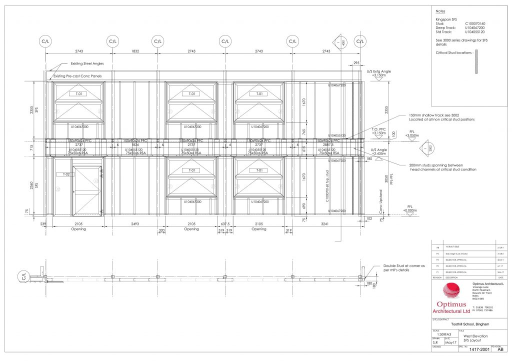 structural framing planning